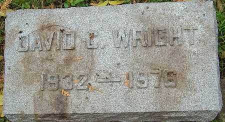 WRIGHT, DAVID C - Franklin County, Ohio | DAVID C WRIGHT - Ohio Gravestone Photos