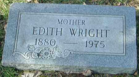 WRIGHT, EDITH - Franklin County, Ohio   EDITH WRIGHT - Ohio Gravestone Photos