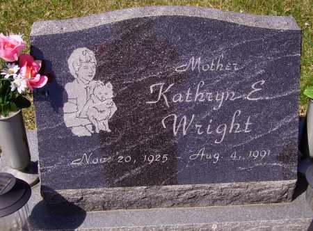 WRIGHT, KATHRYN E. - Franklin County, Ohio   KATHRYN E. WRIGHT - Ohio Gravestone Photos