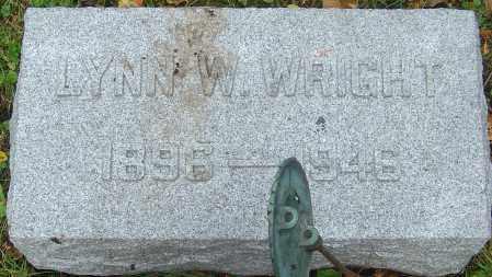 WRIGHT, LYNN WEBB - Franklin County, Ohio | LYNN WEBB WRIGHT - Ohio Gravestone Photos