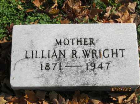 WRIGHT, LILLIAN R - Franklin County, Ohio | LILLIAN R WRIGHT - Ohio Gravestone Photos