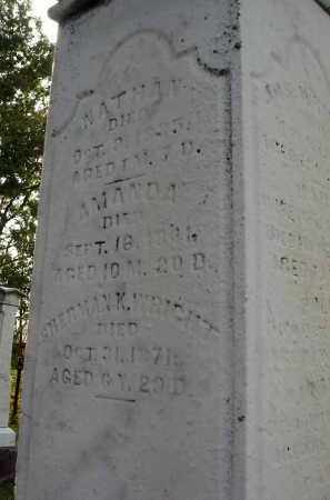 WRIGHT, AMANDA - Franklin County, Ohio | AMANDA WRIGHT - Ohio Gravestone Photos