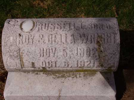 WRIGHT, RUSSELL L. - Franklin County, Ohio   RUSSELL L. WRIGHT - Ohio Gravestone Photos