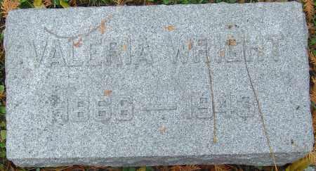 CREEKBAUM WRIGHT, VALERIA - Franklin County, Ohio   VALERIA CREEKBAUM WRIGHT - Ohio Gravestone Photos