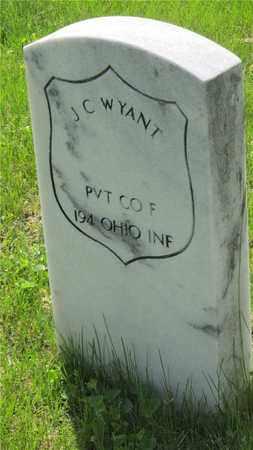 WYANT, J. C. - Franklin County, Ohio | J. C. WYANT - Ohio Gravestone Photos