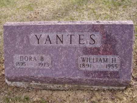 YANTES, WILLIAM H. - Franklin County, Ohio | WILLIAM H. YANTES - Ohio Gravestone Photos