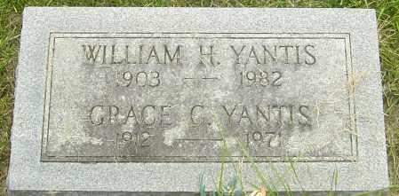 YANTIS, WILLIAM H - Franklin County, Ohio | WILLIAM H YANTIS - Ohio Gravestone Photos