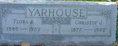 YARHOUSE, CHRISTOF J - Franklin County, Ohio | CHRISTOF J YARHOUSE - Ohio Gravestone Photos
