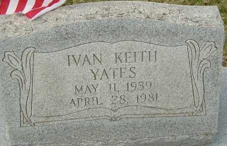 YATES, IVAN KEITH - Franklin County, Ohio | IVAN KEITH YATES - Ohio Gravestone Photos