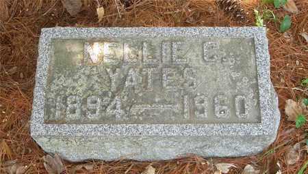 YATES, NELLIE C. - Franklin County, Ohio | NELLIE C. YATES - Ohio Gravestone Photos