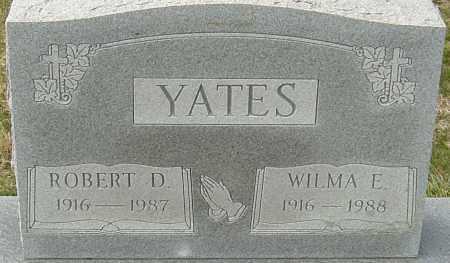 YATES, WILMA E - Franklin County, Ohio | WILMA E YATES - Ohio Gravestone Photos