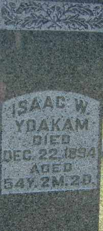 YOAKAM, ISAAC W - Franklin County, Ohio | ISAAC W YOAKAM - Ohio Gravestone Photos