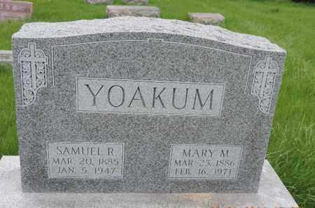 YOAKUM, MARY M - Franklin County, Ohio | MARY M YOAKUM - Ohio Gravestone Photos