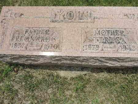YOLI, LEONARDO - Franklin County, Ohio | LEONARDO YOLI - Ohio Gravestone Photos