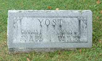 YOST, CHARLES F - Franklin County, Ohio | CHARLES F YOST - Ohio Gravestone Photos