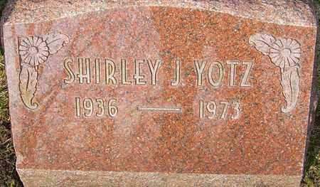 YOTZ, SHIRLEY J - Franklin County, Ohio   SHIRLEY J YOTZ - Ohio Gravestone Photos