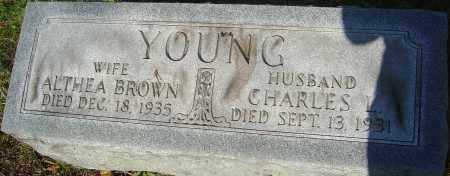 YOUNG, CHARLES - Franklin County, Ohio | CHARLES YOUNG - Ohio Gravestone Photos