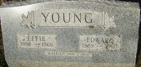 YOUNG, EFFIE - Franklin County, Ohio | EFFIE YOUNG - Ohio Gravestone Photos
