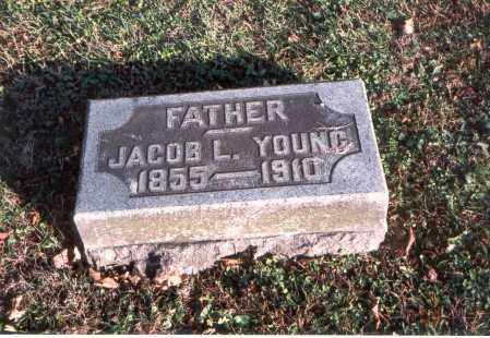 YOUNG, JACOB L. - Franklin County, Ohio | JACOB L. YOUNG - Ohio Gravestone Photos