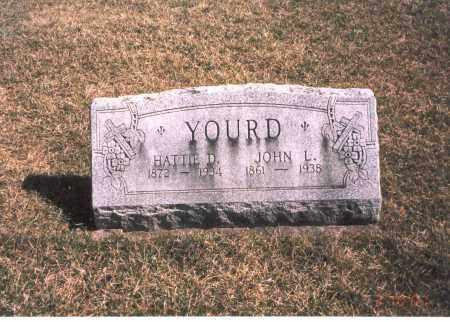 YOURD, JOHN L. - Franklin County, Ohio   JOHN L. YOURD - Ohio Gravestone Photos