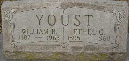 YOUST, WILLIAM R - Franklin County, Ohio | WILLIAM R YOUST - Ohio Gravestone Photos