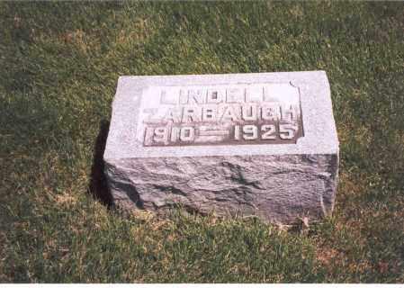 ZARBAUGH, LINDELL - Franklin County, Ohio | LINDELL ZARBAUGH - Ohio Gravestone Photos