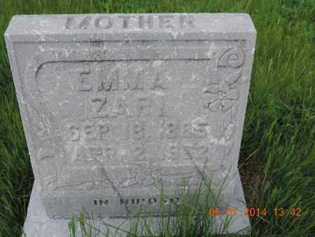 ZARI, EMMA - Franklin County, Ohio | EMMA ZARI - Ohio Gravestone Photos