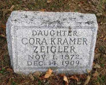 ZEIGLER, CORA - Franklin County, Ohio   CORA ZEIGLER - Ohio Gravestone Photos