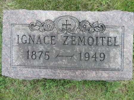 ZEMOITEL, IGNACE - Franklin County, Ohio | IGNACE ZEMOITEL - Ohio Gravestone Photos