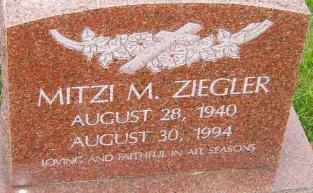 MATTES ZIEGLER, MITZI - Franklin County, Ohio | MITZI MATTES ZIEGLER - Ohio Gravestone Photos