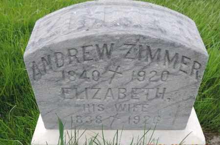 ZIMMER, ELIZABETH - Franklin County, Ohio | ELIZABETH ZIMMER - Ohio Gravestone Photos