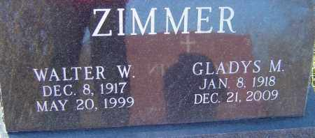 ZIMMER, WALTER - Franklin County, Ohio | WALTER ZIMMER - Ohio Gravestone Photos