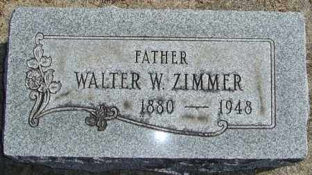 ZIMMER, WATLER W - Franklin County, Ohio | WATLER W ZIMMER - Ohio Gravestone Photos