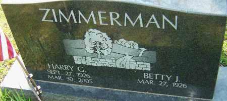 ZIMMERMAN, HARRY G - Franklin County, Ohio   HARRY G ZIMMERMAN - Ohio Gravestone Photos
