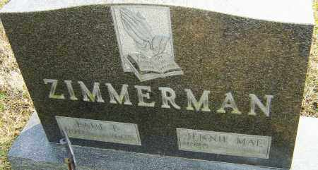 ZIMMERMAN, PAUL - Franklin County, Ohio | PAUL ZIMMERMAN - Ohio Gravestone Photos