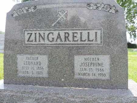 ZINGARELLI, LEONARD - Franklin County, Ohio | LEONARD ZINGARELLI - Ohio Gravestone Photos