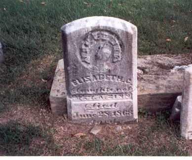 ZINN, ELISABETH C. - Franklin County, Ohio   ELISABETH C. ZINN - Ohio Gravestone Photos