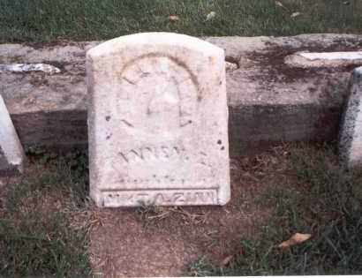 ZINN, FANNEY - Franklin County, Ohio | FANNEY ZINN - Ohio Gravestone Photos