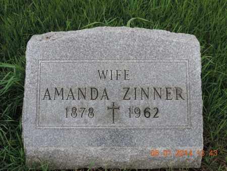 ZINNER, AMANDA - Franklin County, Ohio   AMANDA ZINNER - Ohio Gravestone Photos