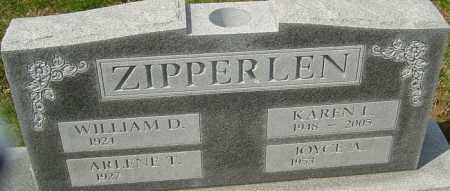 ZIPPERLEN, KAREN - Franklin County, Ohio   KAREN ZIPPERLEN - Ohio Gravestone Photos