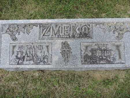 ZMEKO, ETHEL - Franklin County, Ohio | ETHEL ZMEKO - Ohio Gravestone Photos