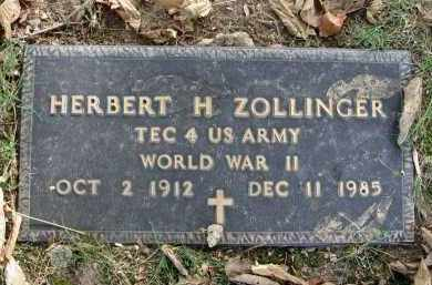 ZOLLINGER, HERBERT H. - Franklin County, Ohio   HERBERT H. ZOLLINGER - Ohio Gravestone Photos