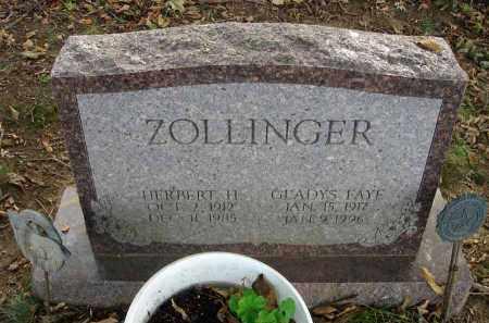 ZOLLINGER, GLADYS FAYE - Franklin County, Ohio | GLADYS FAYE ZOLLINGER - Ohio Gravestone Photos