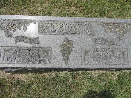 ZUBOVIC, ANTON - Franklin County, Ohio   ANTON ZUBOVIC - Ohio Gravestone Photos