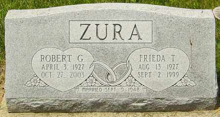ZURA, ROBERT - Franklin County, Ohio | ROBERT ZURA - Ohio Gravestone Photos