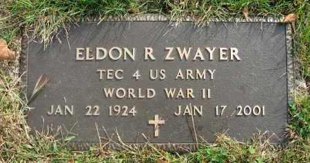 ZWAYER, ELDON R. - Franklin County, Ohio | ELDON R. ZWAYER - Ohio Gravestone Photos