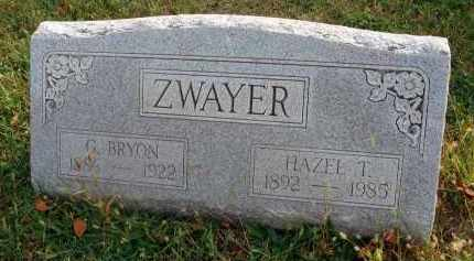 ZWAYER, HAZEL T. - Franklin County, Ohio | HAZEL T. ZWAYER - Ohio Gravestone Photos