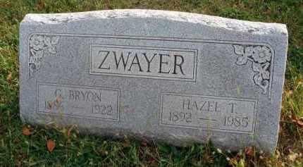 ZWAYER, G. BRYON - Franklin County, Ohio | G. BRYON ZWAYER - Ohio Gravestone Photos