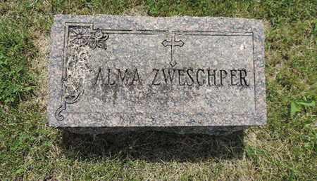 ZWESCHPER, ALMA - Franklin County, Ohio | ALMA ZWESCHPER - Ohio Gravestone Photos