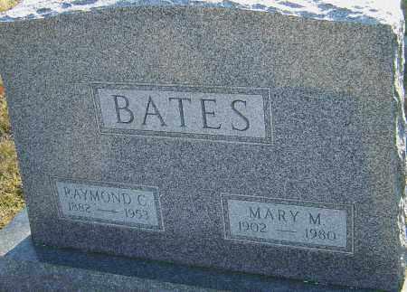 BITZER BATES, MARY - Franklin County, Ohio | MARY BITZER BATES - Ohio Gravestone Photos